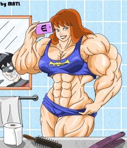 Muscle DC Girls